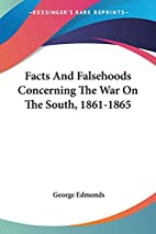 Facts And Falsehoods Concerning The War On…