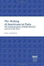 The Making of Americans in Paris: The…