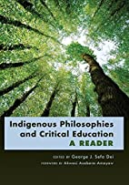 Indigenous Philosophies and Critical…