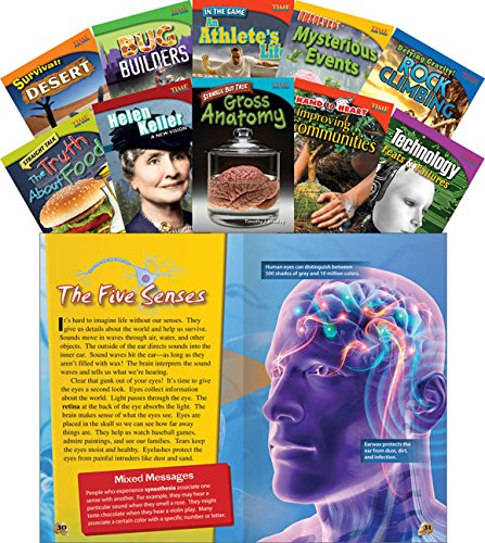 time-for-kids-informational-text-grade-4-readers-set-1-10-book-set-time-for-kids-nonfiction-readers