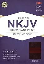 NKJV Super Giant Print Reference Bible,…