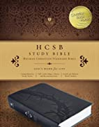HCSB Study Bible, Charcoal LeatherTouch,…