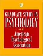 Graduate Study in Psychology, 2009 by…