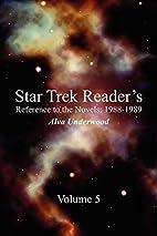 Star Trek Reader's Reference to the Novels:…