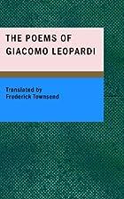 The Poems of Giacomo Leopardi by Giacomo…