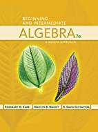 Beginning and Intermediate Algebra: A Guided…