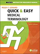 Instructor's manual for quick & easy medical…