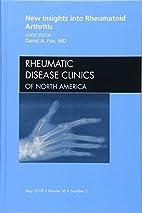 New Insights into Rheumatoid Arthritis, An…