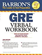 Barron's GRE Verbal Workbook, 2nd…