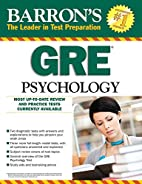 Barron's GRE Psychology, 7th Edition by…