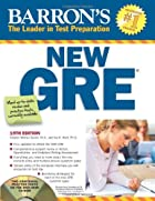 Barron's New GRE with CD-ROM, 19th…