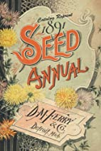 Catalog Reprint 1891 Seed Annual D. M. Ferry…