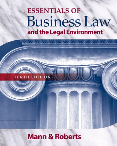 bundle-essentials-of-business-law-and-the-legal-environment-10th-business-law-digital-video-library-printed-access-card