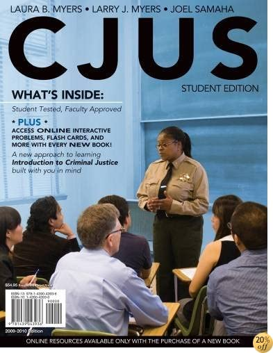 CJUS (with Review Card and Criminal Justice CourseMate with eBook Printed Access Card) (Available Titles CourseMate)