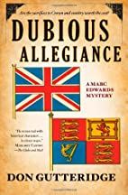 Dubious Allegiance (Marc Edwards, #4) by Don…