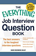 The Everything Job Interview Question Book:…