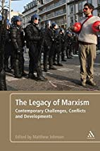 The Legacy of Marxism: Contemporary…