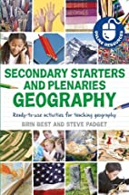 Secondary starters and plenaries geography:…