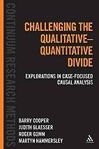 Challenging the Qualitative-Quantitative…