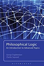 Philosophical Logic: An Introduction to…