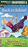 Brunstetter, Wanda E.: Back to School (Rachel Yoder - Always Trouble Somewhere Series)
