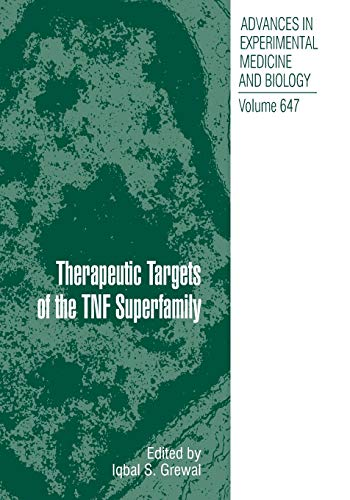 therapeutic-targets-of-the-tnf-superfamily-advances-in-experimental-medicine-and-biology
