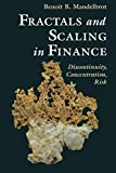 Mandelbrot, Benoit B.: Fractals and Scaling In Finance: Discontinuity, Concentration, Risk