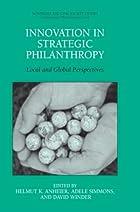 Innovation in Strategic Philanthropy: Local…