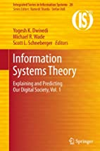 Information Systems Theory: Explaining and…