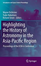 Highlighting the History of Astronomy in the…