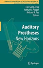 Auditory Prostheses New Horizons by Fan-Gang…