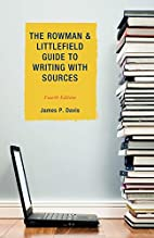 The Rowman & Littlefield Guide to Writing…