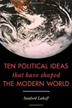Ten Political Ideas that Have Shaped the…