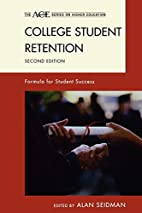 College Student Retention: Formula for…