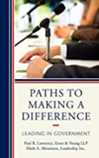 Paths to Making a Difference: Leading in…