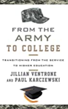 From the Army to College: Transitioning from…