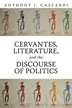 Cervantes, Literature and the Discourse of…