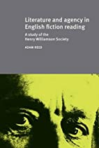 Literature and Agency in English Fiction…