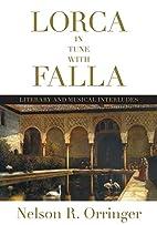 Lorca in Tune with Falla: Literary and…