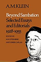 Beyond sambation : selected essays and…