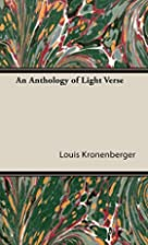 An Anthology of Light Verse by Louis…