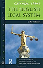 English Legal System (Course Notes) by…