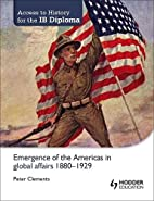 Emergence of the Americas in Global Affairs,…