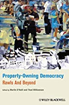Property-Owning Democracy: Rawls and Beyond…
