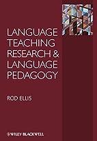 Language Teaching Research and Language…