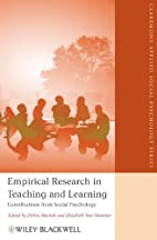 Empirical research in teaching and learning…