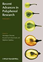 Recent advances in polyphenol research.…