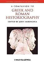 A Companion to Greek and Roman…