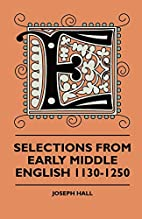 Selections From Early Middle English…