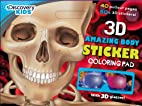 Discovery Kids 3D The Human Body Sticker &…